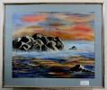 Scheune Ilse Wernhard Ölbild 10528