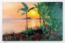 Sonnenuntergang an der Sudsee Bob Ross Ölbild 10336