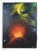 Vulkan Ilse Wernhard Ölbild 10226
