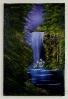 Wasserfall Bob Ross Ölbild 10403