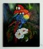 2 Papageien Jenkins Art Ölbild 10231