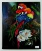 2 Papageien Jenkins Art Ölbild 10318