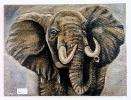 Elefant Bob Ross Ölbild 10320
