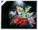Fische Jenkins Art Ölbild 10470