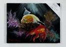Fische Kleinbild Jenkins Art Ölbild 10505