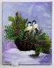 Maisen im Korb Bob Ross Ölbild 10164