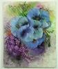 blaue Mohnblumen Jenkins Art Ölbild 10133