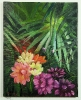 Dschungelblumen Jenkins Art Ölbild 10135