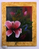 Lilie mit Goldrand Jenkins Art Ölbild 10138