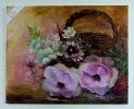 Rosen im Korb Jenkins Art Ölbild 10430