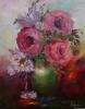 Rosen in Vase 40 x 50