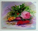 Rosenboucet Jenkins Art Ölbild 10446