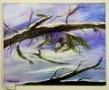 Schneehase Jenkins Art Ölbild 10145