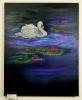 Schwan Jenkins Art Ölbild 10148