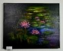 Seerosen Jenkins Art Ölbild 10170