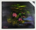 Seerosen Jenkins Art Ölbild 10449