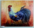 stolzer Hahn Jenkins Art Ölbild 10143
