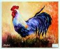 stolzer Hahn Jenkins Art Ölbild 10321