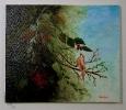 Vogel im Blaetterwald Jenkins Art Ölbild 10225