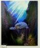 Wasserschildkroete Jenkins Art Ölbild 10147