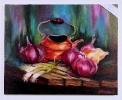 Zwiebeln mit Kanne Jenkins Art Ölbild 10472