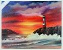 Leuchturm Joyce Ortner Ölbild 10457