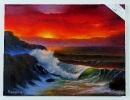 Meeresbild Joyce Ortner Ölbild 10484